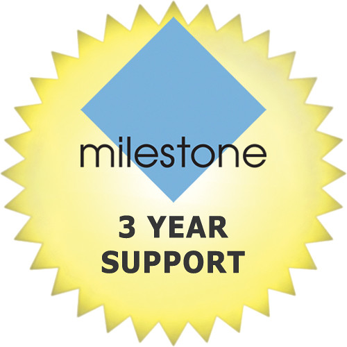 Milestone 3-Year Opt In Support For XProtect Corporate Base Server License