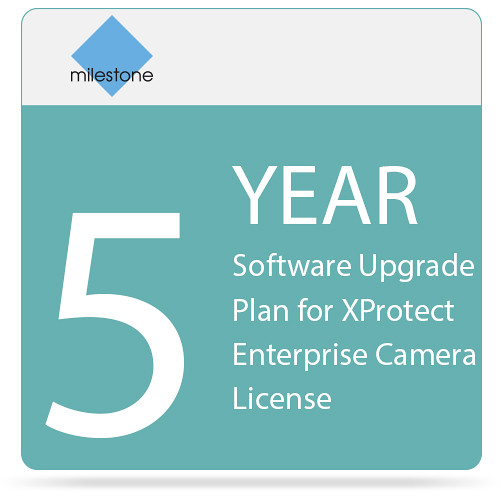 Milestone 5-Year Software Upgrade Plan for XProtect Enterprise Camera License