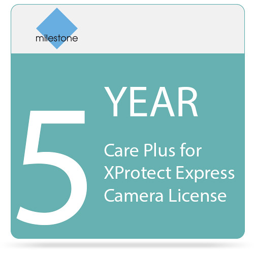 Milestone 5-Year Care Plus for XProtect Express Camera License