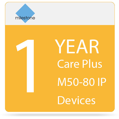 Milestone Care Plus for Husky M50 (1-Year, 80 IP Devices)
