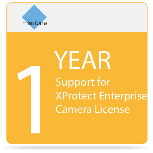 Milestone 1-Year SUP for XProtect Enterprise Camera License
