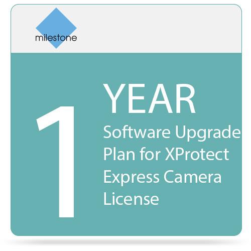 Milestone 1-Year Software Upgrade Plan for XProtect Express Camera License