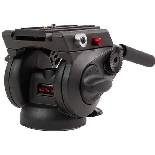 miliboo 75mm Bowl Base Flat Fluid Head Ball For Camera Tripod