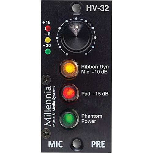 Millennia HV-32 Single-Channel 200 Series Microphone Preamplifier Module