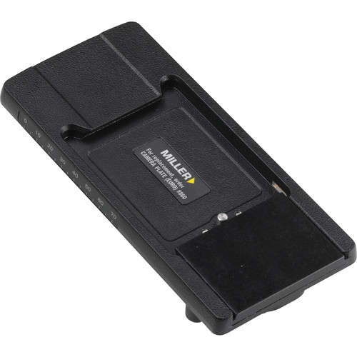 Miller Sliding Quick Release Assembly for 860 Camera Plate (Euro)