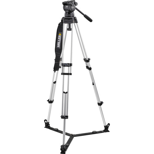 Miller Compass 23 with Toggle ENG 402G Two-Stage Alloy Tripod System