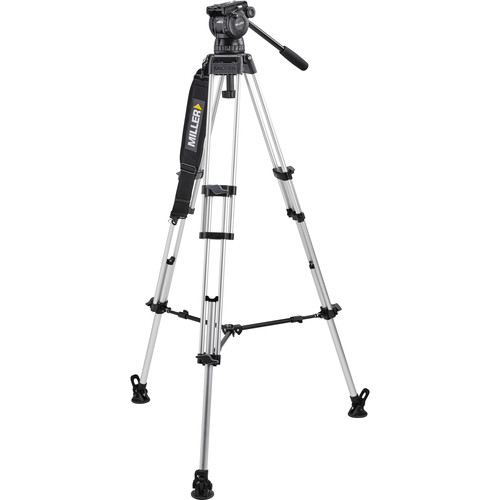 Miller Compass 23 with Toggle ENG 402 Two-Stage Alloy Tripod System
