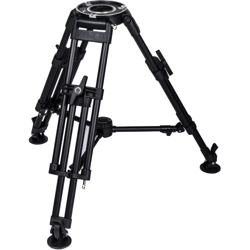 Miller HDC MB 1-Stage Short Metal Alloy Tripod (Mid-Level Spreader Ready)