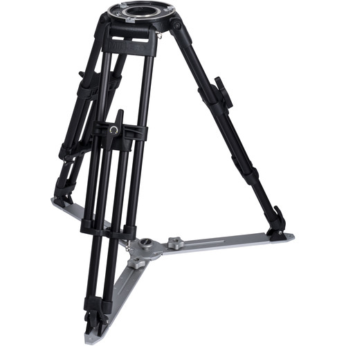 Miller HDC MB 1-Stage Short Metal Alloy Tripod (Ground Spreader Ready)