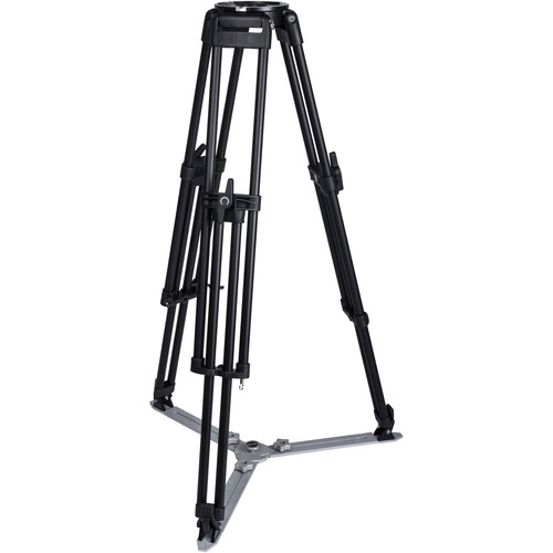 Miller HDR MB 1-Stage Alloy Tripod (Ground-Level Spreader Ready)