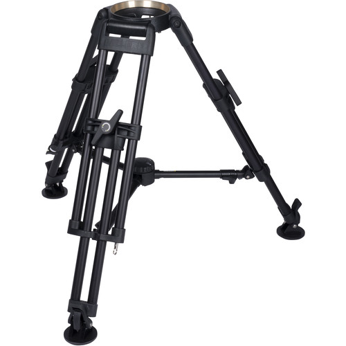Miller HDC 150 1-Stage Short Metal Alloy Tripod (Mid-Level Spreader Ready)