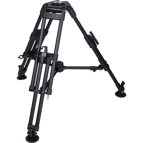 Miller HDC 100 1-Stage Short Metal Alloy Tripod (Mid-Level Spreader Ready)