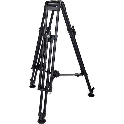 Miller HDC 100 1-Stage Metal Alloy Tripod (Mid-Level Spreader Ready)