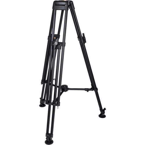 Miller HDC 100 1-Stage Tall Metal Alloy Tripod (Mid-Level Spreader Ready)