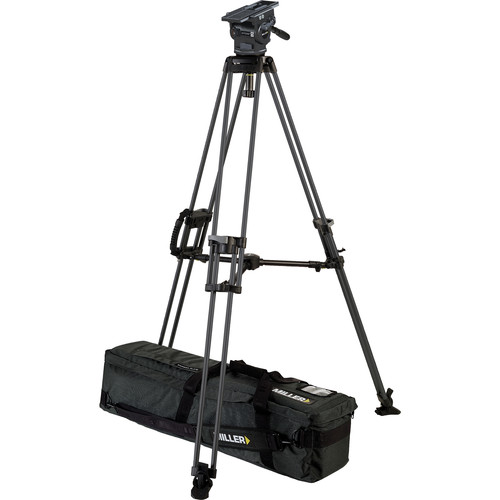 Miller ArrowX 5 Sprinter II Single-Stage Aluminum Tripod System