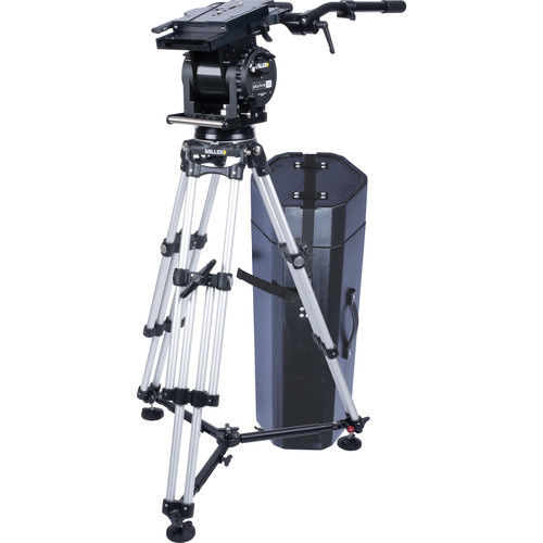 Miller Skyline 90 HD 1-Stage Alloy Tripod System with Off-Ground Spreader & Two Cases