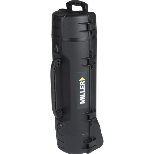 Miller Short Smart Tripod Case with Wheels for 2 Stage Sprinter & Toggle Systems (Black)