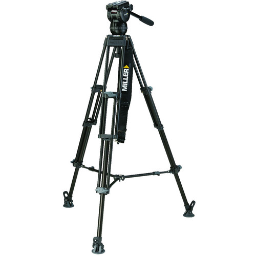 Miller CX6 Toggle 2-Stage Alloy Tripod System (420)