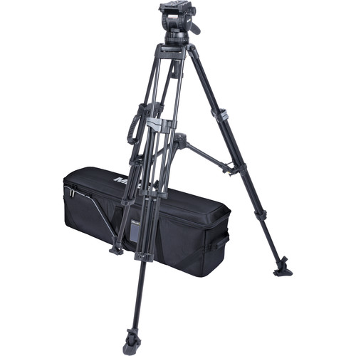 Miller CX10 Sprinter II 2-Stage Alloy Tripod System with Mid-Level Spreader