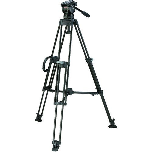 Miller CX10 Sprinter II 1-Stage Alloy Tripod System with Mid-Level Spreader