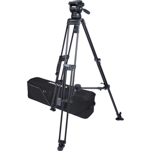 Miller CX18 Sprinter II 1-Stage Alloy Tripod System with Mid-Level Spreader
