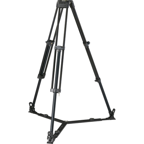 Miller Toggle 75 1-Stage Alloy Tripod (Ground-Level Spreader Ready)