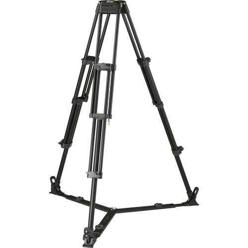 Miller Toggle 75 2-Stage Alloy Tripod (Ground-Level Spreader Ready)