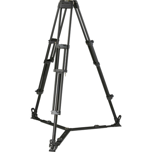 Miller Toggle 2-Stage Alloy Tripod (Ground-Level Spreader Ready)