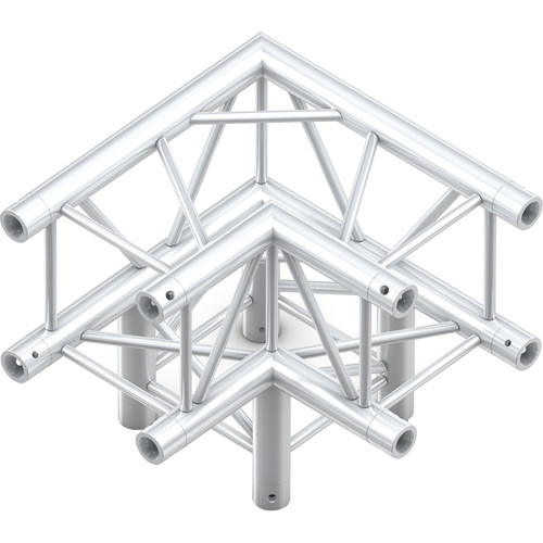Milos QuickTruss Ultra 3-Way Corner Junction Connection Set