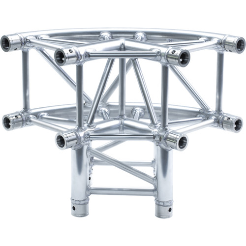 Milos QuickTruss Ultra 3-Way Curved Corner Junction Connection Set
