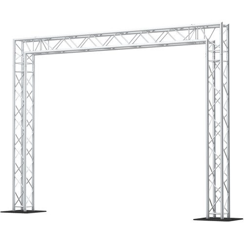Milos QuickTruss ULTRA DJ Complete Goal Post Truss Kit (6.5 x 10')