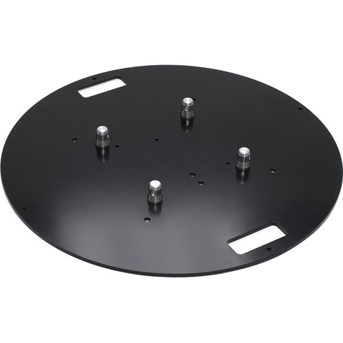 "Milos QuickTruss Ultra Steel Round Baseplate with Handles (31.5"" Diameter)"