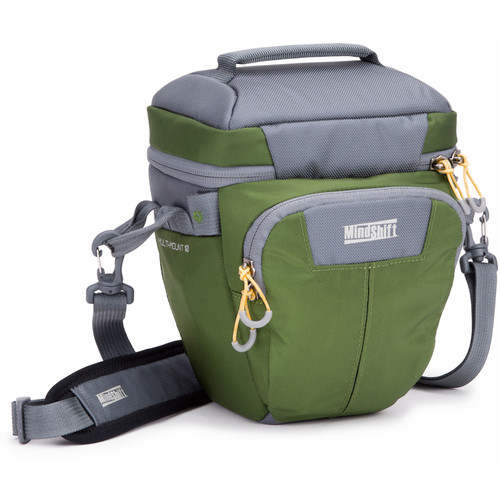 MindShift Gear Multi-Mount Holster 10 (Green and Gray)