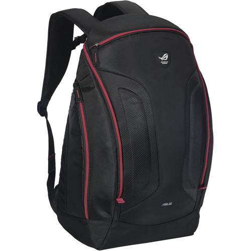 """ASUS Republic of Gamers Shuttle II Backpack for up to 17"""" Laptop (Black)"""