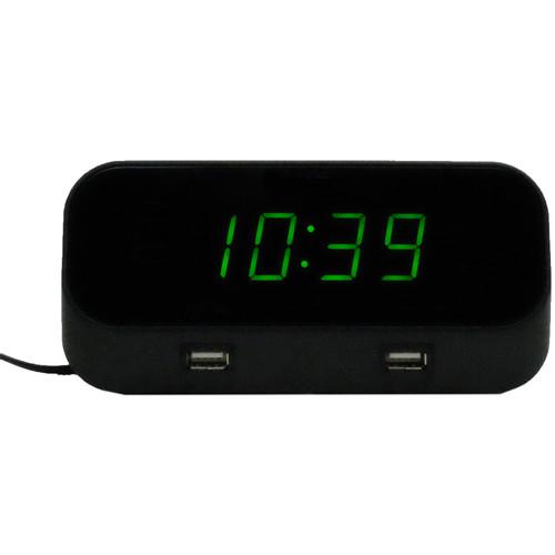 Mini Gadgets BB4K WiFi Alarm Clock Covert Camera