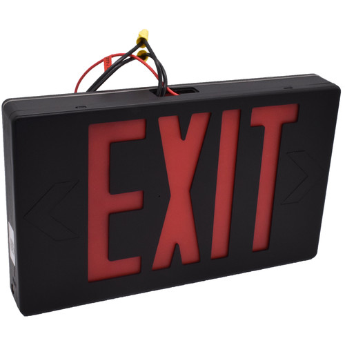 Bush Baby Hardwired Exit Sign with 4K UHD Covert Wi-Fi Camera