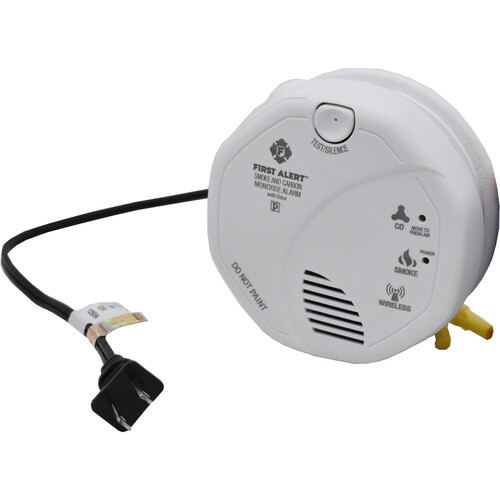 Bush Baby Non-Functional Smoke Detector with Dual 1080p Wi-Fi Night Vision Covert Cameras
