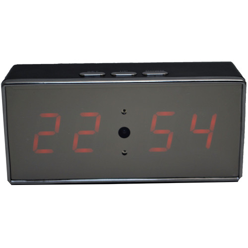 Mini Gadgets Desk Clock with 1080p Covert Camera