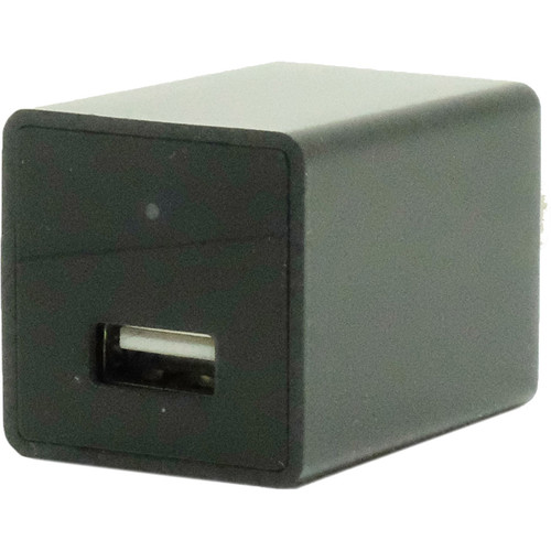 Mini Gadgets USB Power Adapter with 2MP Covert Wi-Fi Camera