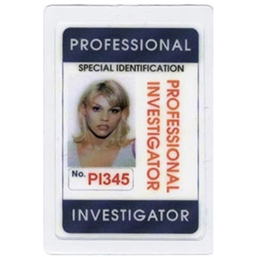 Mini Gadgets Professional Investigator ID Card