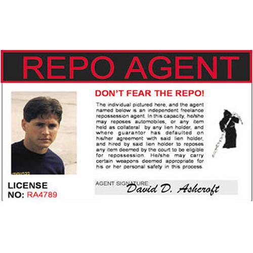 Mini Gadgets Repo Agent ID Card