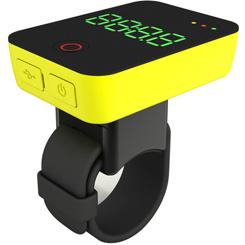 MiniWing Camile R100 GPS Bike Computer with Camera (Yellow)