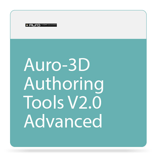 AURO Technologies Auro-3D Authoring Tools V2.0 Advanced (Download)