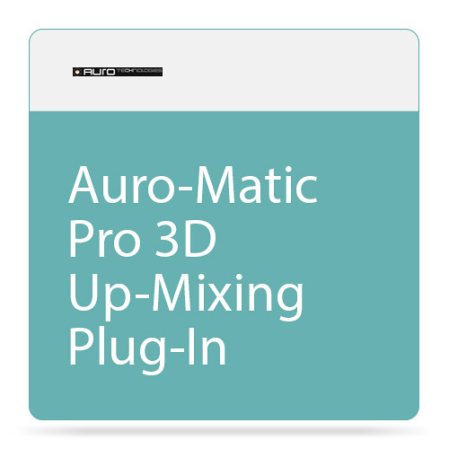 AURO Technologies Auro-Matic Pro 3D - Up-Mixing Plug-In (Download)