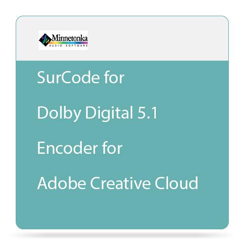 Minnetonka Audio SurCode for Dolby Digital 5.1 Encoder for Adobe Creative Cloud (Upgrade)
