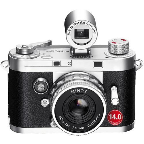 Minox DCC 14.0 Digital Camera (Silver)