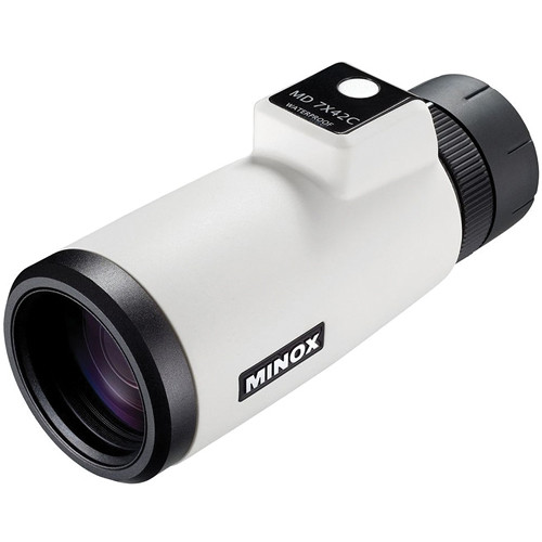 Minox 7x42 MD C Monocular (White)