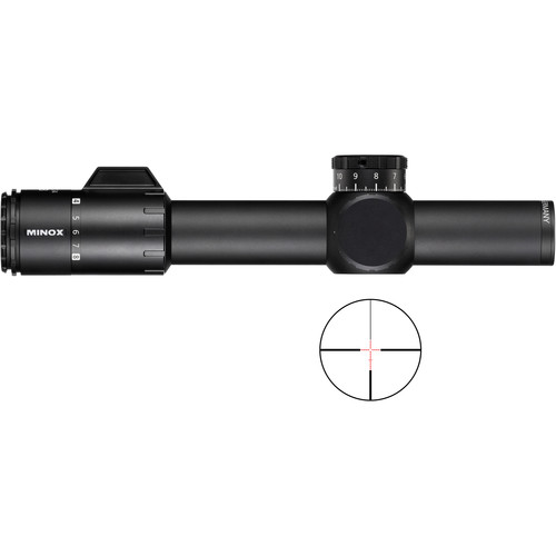 Minox 1-8x24 ZP8 TAC Riflescope (Two MR10 Illuminated Reticles)