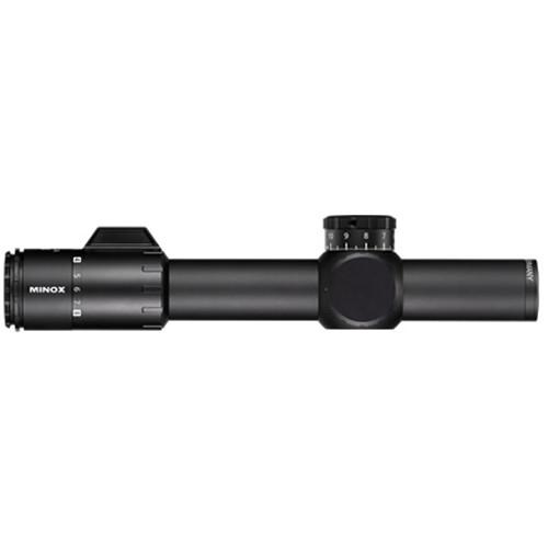 Minox 5-25x56 ZP5 TAC Riflescope (MR5 Illuminated Reticle, Matte Black)