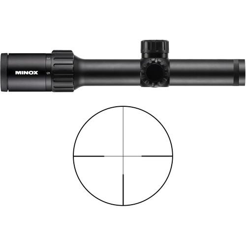 Minox 1-5x24 ZX5i Riflescope (German #4 Reticle)